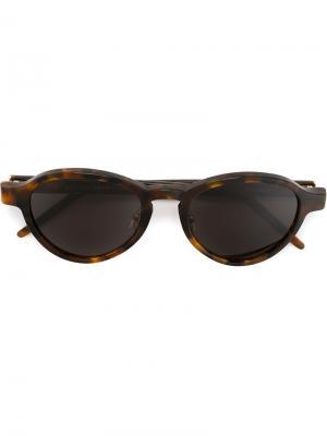 Солнцезащитные очки Versilia Classic Havana Retrosuperfuture. Цвет: коричневый