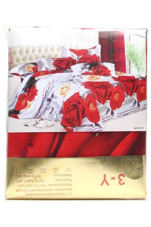 Постельное бельё 1,5 сп. 70x70 Французский стиль. Цвет: мультиколор