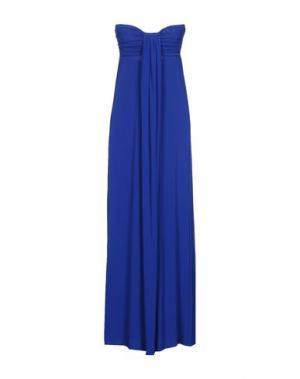 Длинное платье FRANCESCA FERRANTE. Цвет: синий