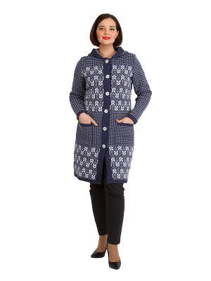 Легкое пальто, модель Марлен Dorothy's Home. Цвет: синий