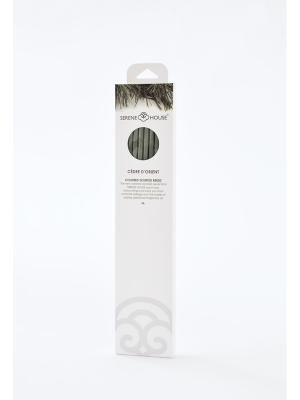 Парфюмерные палочки Восточный кедр 6 шт SERENE HOUSE. Цвет: зеленый