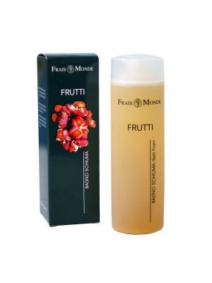 Пена для ванны с ароматом фруктов, 200 мл Frais Monde. Цвет: персиковый