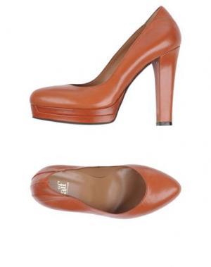 Туфли NAIF. Цвет: желто-коричневый