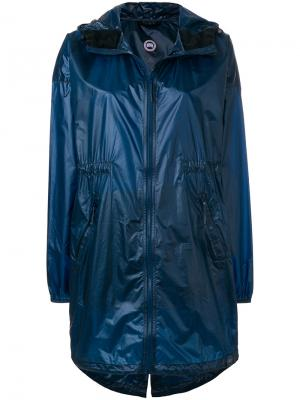 Rosewell hooded shell jacket Canada Goose. Цвет: синий