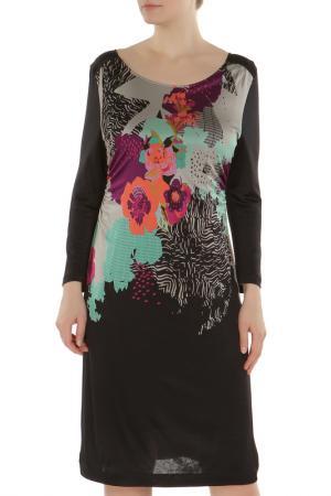 Платье Laurel. Цвет: черный, фиолетовый, зеленый