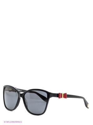 Солнцезащитные очки BLD 1524 101 Baldinini. Цвет: черный