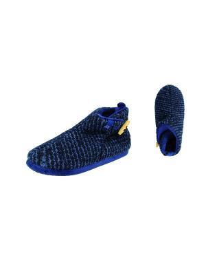 Тапочки De Fonseca. Цвет: темно-синий, синий