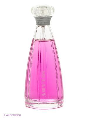 Парфюмерная вода So Lady, 100 мл CHRISTINE DARVIN. Цвет: розовый, сиреневый
