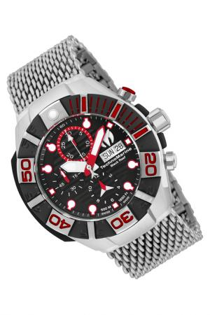 Watch TechnoMarine. Цвет: silver, black, red