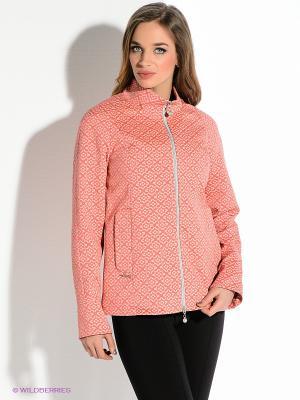 Куртка D`imma. Цвет: коралловый