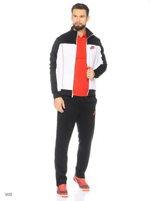 Спортивный костюм M NSW TRK SUIT PK PACIFIC Nike. Цвет: черный, белый