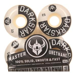 Колеса для скейтборда  Timeworks Black/White 99A 53 mm Darkstar. Цвет: белый,черный