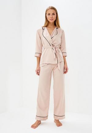 Пижама Bluebella. Цвет: розовый