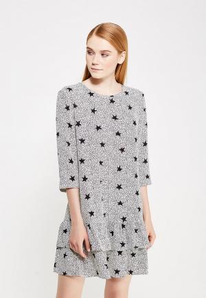 Платье Jacqueline de Yong. Цвет: белый