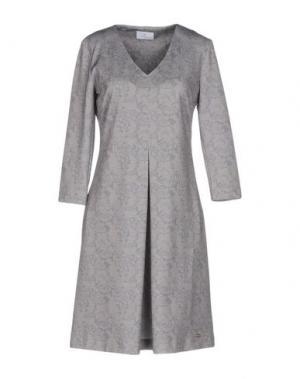 Короткое платье CONTE OF FLORENCE. Цвет: серый