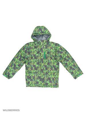 Куртки Columbia. Цвет: зеленый