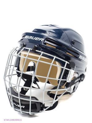 Шлем с маской BAUER 4500 COMBO Взрослый. Цвет: темно-синий