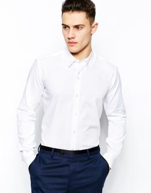 Red Eleven Приталенная жаккардовая рубашка