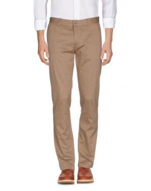 Повседневные брюки J. LINDEBERG. Цвет: хаки