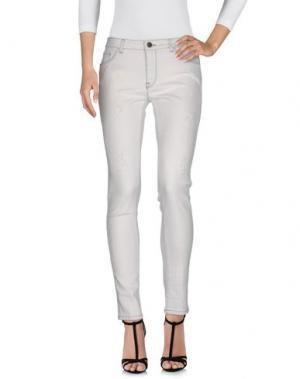 Джинсовые брюки # 7.24. Цвет: светло-серый