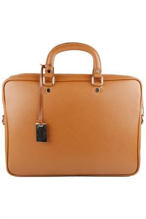 Офисная сумка Lattemiele. Цвет: light brown