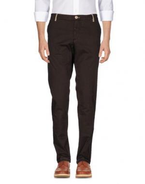 Повседневные брюки DIMATTIA. Цвет: какао