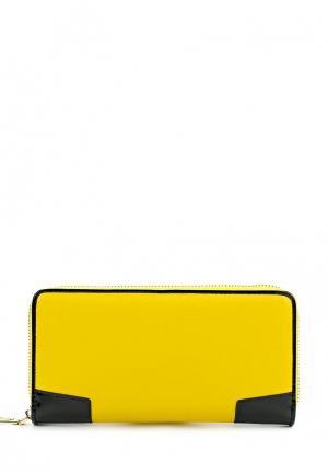 Кошелек El Tempo. Цвет: желтый