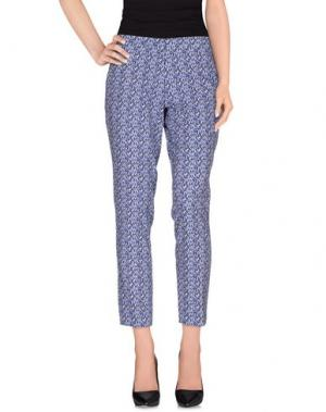 Повседневные брюки MAESTA. Цвет: синий