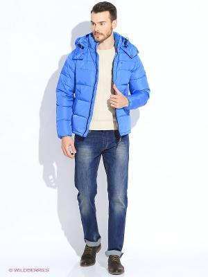 Куртка Tommy Hilfiger. Цвет: голубой