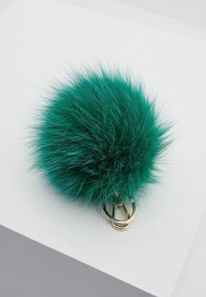 Брелок Furla. Цвет: зеленый