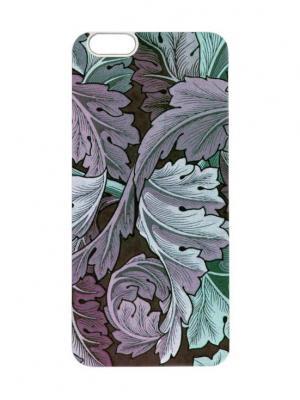 Чехол для iPhone 6 Капустные листья Chocopony. Цвет: черный, белый