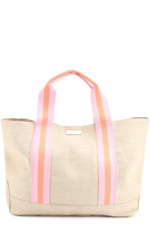 Льняная сумка Bimini Heidi Klein. Цвет: розовый