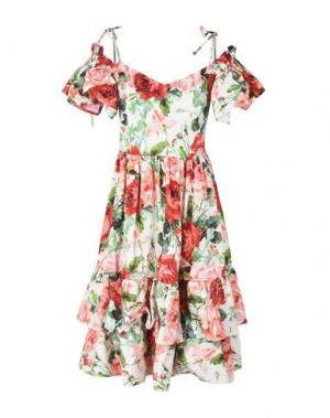 Короткое платье NORA BARTH. Цвет: розовый