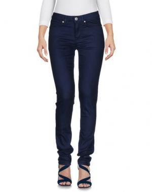 Джинсовые брюки WON HUNDRED. Цвет: темно-синий
