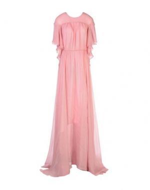 Длинное платье DANIELE CARLOTTA. Цвет: розовый