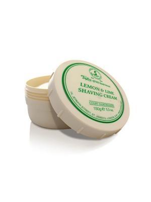 Крем для бритья Lemon & Lime Shaving Cream Bowl 150гр Taylor of Old Bond Street. Цвет: молочный