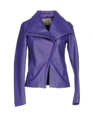 Куртка VINTAGE DE LUXE. Цвет: фиолетовый
