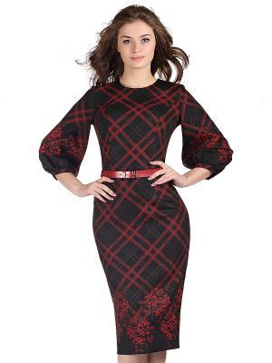 Платье OLIVEGREY. Цвет: черный, бордовый