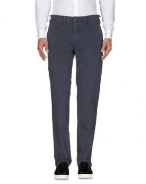 Повседневные брюки CARRERA. Цвет: грифельно-синий