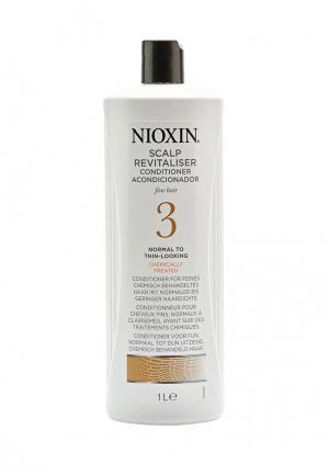 Увлажняющий кондиционер Система 3 Nioxin. Цвет: белый