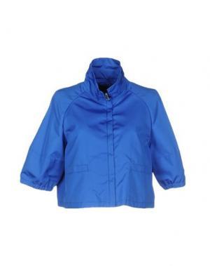 Куртка FABRIZIO LENZI. Цвет: пастельно-синий