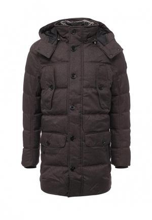 Куртка утепленная Tom Tailor. Цвет: коричневый