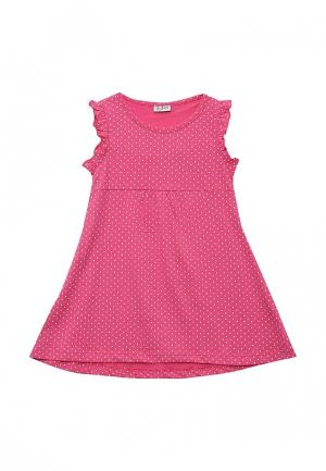 Платье Blukids. Цвет: фуксия