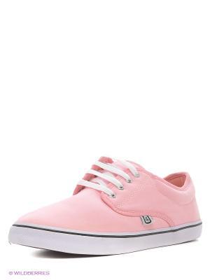 Кеды 4U. Цвет: розовый, белый, черный