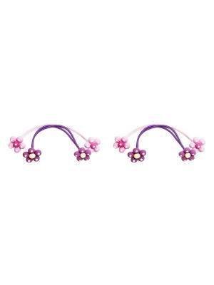 Резинка Kameo-bis. Цвет: фиолетовый, розовый