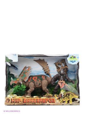 Набор динозавров Happy Kin. Цвет: коричневый