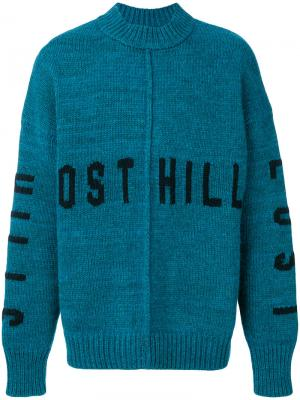 Пуловер Lost Hill Yeezy. Цвет: синий