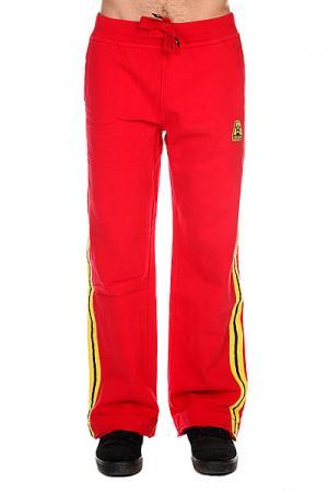 Штаны прямые A-One A-Concept Red. Цвет: красный