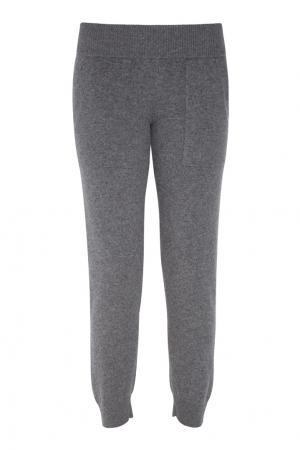 Кашемировые брюки MYONE. Цвет: серый