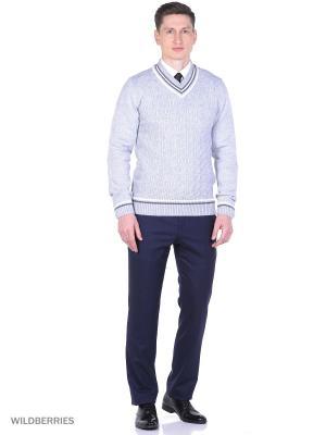 Пуловер VICENTE. Цвет: серый